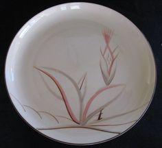 Russel Wright Iroquois Casual NASTURTIUM DINNER PLATE [oceana, aqua ...