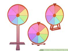 Image titled Build a Wheel of Fortune Wheel Step 1