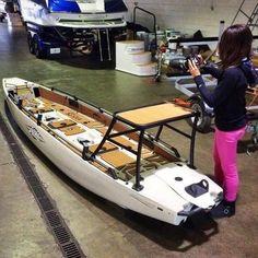Tips on Fly Fishing Kayak Fishing Gear, Walleye Fishing, Canoe And Kayak, Gone Fishing, Kayaking Gear, Canoeing, Fishing Lures, Small Fishing Boats, Small Boats