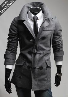 Clearance! Only $29.95. Men's Coat with Removable Hood. While stock last