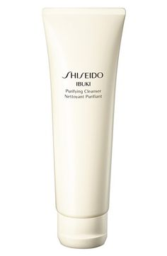 You barely have to use a drop and the Shiseido Ibuki cleanser lathers quickly into a rich foam.  It is gentle enough to clear blemishes without stripping away your skin's essential oils. It's no wonder it was a Teen Vogue Beauty Award Winner.
