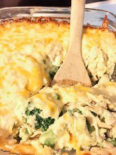Low carb chicken divan recipe