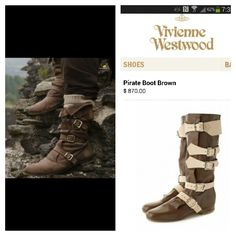The Merlin boots. Wish they made a show replica. I would buy those...at a discount...lol.