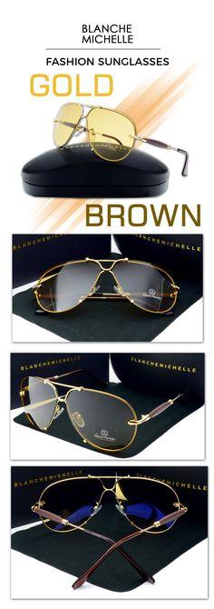 036dfed5fa Men s fashion rimless sunglasses - Blanche michelle s UV400 eyewear  sunglasses Men s Accessories