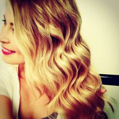 Curly Waves by Faithy. Going into my hair album so I can remember how to do this look next time! I hope!