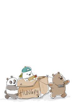 We bear bears Cute Panda Wallpaper, Bear Wallpaper, Cute Disney Wallpaper, Kawaii Wallpaper, Cute Wallpaper Backgrounds, Wallpaper Iphone Cute, We Bare Bears Wallpapers, Panda Wallpapers, Cute Cartoon Wallpapers