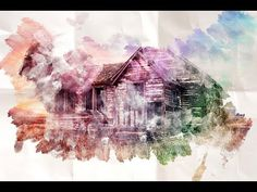 (78) Watercolor Tutorial in Gimp - YouTube