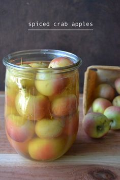 This old fashioned recipe makes the most delicious spiced crab apples ...