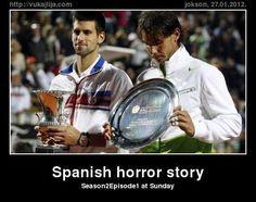 Djokovic v. Nadal