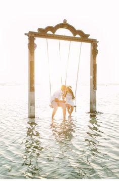 beach engagement shoot by Fabijan Vuksic