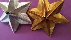 origami dominata star - YouTube