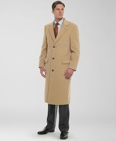 Brooks Brothers Camel Hair Overcoat... I try not to even look at things so expensive, but oh well.