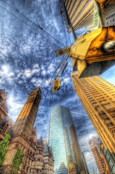 Toronto Skywards (HDR) by Nik-On! (Very Busy), via Flickr