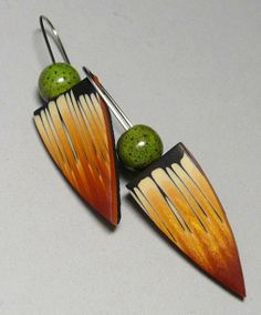 Earrings by E. H. DESING | Polymer Clay Planet