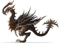 Bird Monster from Blade & Soul