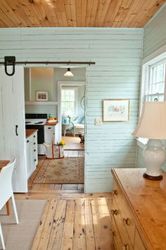 Country home with barn doors