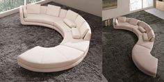 Oval Sectional Sofa Sofa Beds Design Latest Trend Of Ancient Curved Sectional, Circular Sectional Sofa Derektime Design Curved Sectional Sofa, Round And Curved Sofa With Original Accent Furniture Curved, Gebogenes Sofa, Leather Couch Sectional, Sofa Set, Buy Sofa, Round Sectional, Sectional Sofas, Round Couch, Modern Sectional, Curved Couch