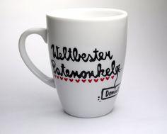 In jeder einzelnen von Hand beschrifteten ♥LovelyCups♥ Geschenk Tasse steckt viel Herzblut. Hier kannst Du eine Patenonkel Geschenk Tasse mit Name der besonderen Art erwerben. Die...