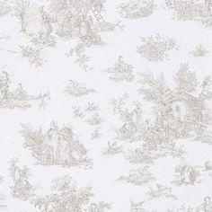 Tapete Vintage Diary 294902 Rasch Textil feiner Streifen gelb weiß Landhaus