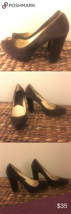 Michael Kors Heels Classic Brown Suede Pumps From Michael Kors In Great Used Condition. Slight Wear On Sole Of Shoe. Please See Photos. Size 9.5 Michael Kors Shoes Heels