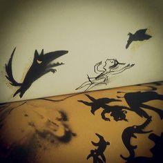 Sombras by Suzy Lee ya aprendiste caperuzita