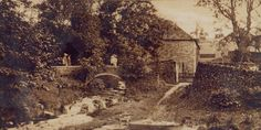 The oldest photo I've seen of the Packhorse Bridge. Looks like very early - or maybe even before then. Old Photos, Vintage Photos, Peak District, Landscape Photos, Natural Beauty, Past, Bridge, National Parks, Landscapes