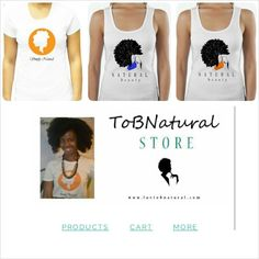 Pre-order your #ToBNaturalTee today! BULK ORDERS BEING PLACED THIS SATURDAY!  http://tobnatural.bigcartel.com