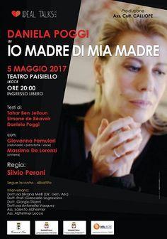 Lecce Daniela Poggi in scena con Io Madre di Mia Madre