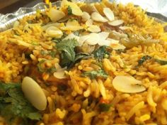 National Rice Month: Shrimp Biryani at Khyber Indian Restaurant - Eating Our Words