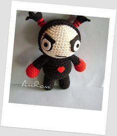 Adorable Garu Amigurumi, Pucca's BF #crochet #pucca #amigurumi