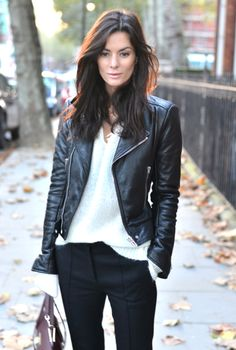 Doma Oxblood Quilted burgundy Leather Jacket. Fall street ...