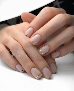 Today we have 41 of the most amazing nails you have ever witnessed! All of these nails will literally blow your mind! Well, hopefully not literally but figuratively, these nails will drive you insane! Gelish Nails, Nude Nails, Acrylic Nails, Shellac, Manicures, Hair And Nails, My Nails, Nagellack Trends, Minimalist Nails