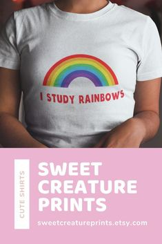 Grab this LGBT Harry Styles inspired I Study Rainbows shirt, perfect for any pride event or your next Harry Styles show. Click through to view more styles. Harry Styles Shirt, Lgbt History, Pride Outfit, Intersectional Feminism, Christmas Gifts For Her, Ethical Fashion, Things To Buy, Inspire Me, Funny Shirts
