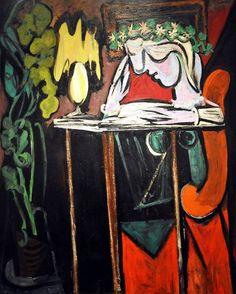 Pablo Picasso, Reading at a Table, 1934.jpg