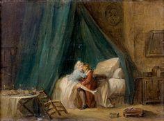 Attribué à Nicolas LAVREINCE (1737-1807), L'Après-déjeuner