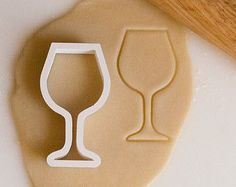 Wine Glass Cookie Cu