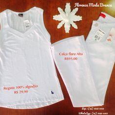 Linda de branco !!! Florence Moda Branca
