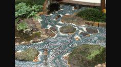Pebble Mosaic Dry Stream