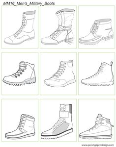 Men's Military Boots Men's Military Boots – PrestigeProDesign. Draw Boots, Draw Tutorial, Men's Shoes, Shoe Boots, Shoes Jordans, Calf Boots, Shoes Style, Shoes Men, Shoes Sneakers