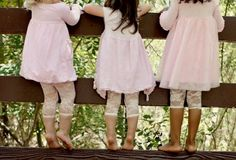 Lace leggings, wooden fence, cute pic for the girls Lace Leggings, Lace Tights, Tight Leggings, Toddler Fashion, Toddler Outfits, Kids Fashion, Girl Outfits, Cute Little Baby, Lace Ruffle