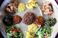 Sengatera Restaurant - Authentic Ethiopian Food in Portland, OR.  I really want to go check this out!