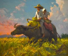 fernando amorsolo paintings - Google Search