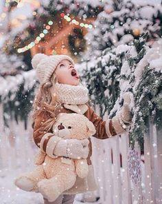 christmas photography New children photography christmas snow Ideas # … – girl photoshoot ideas