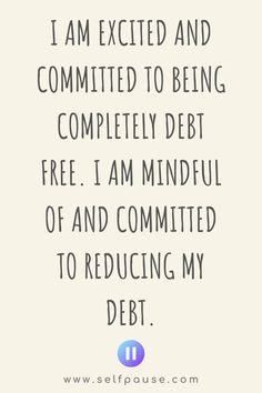 Enjoy this list of the top Debt Management affirmations to help you manage your debt and achieve your financial goals. Visit Selfpause for more affirmations. Wealth Affirmations, Positive Affirmations, Positive Quotes, Save My Money, Think And Grow Rich, Financial Goals, Debt Free, Make Me Happy, Law Of Attraction