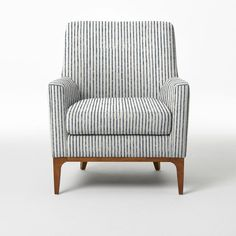 Sloan Upholstered Chair - Prints | west elm