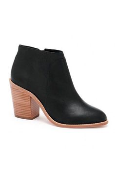 """Little Black Booties: Loeffler RandallWhy It's A Best Buy: A stacked, leather 3'1/4"""" heel provides a lift while still being comfortable enough for everyday wear. Pro tip: Order a size up if you're a half-size. The R29 Review: """"These booties are so versatile and give a lot of extra height."""" — Emily O'Brien #refinery29 http://www.refinery29.com/best-basics-shopping-guide#slide-3"""