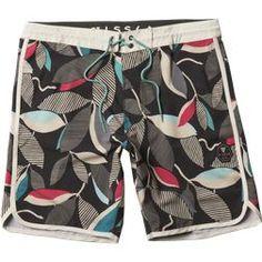 Hurley Boys Youth Size 18 Rasta Board Shorts Boardshorts
