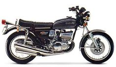1977 Suzuki GT550, this is the bike that changed my life forever.