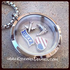 • Visit our Website: www.KizzybelDesigns.com • Like us on Facebook: www.Facebook.com/KizzybelDesigns • Follow us on IG  Twitter: http://instagram.com/kizzybeldesigns http://www.Twitter.com/kizzybeldesigns #military #militaryjewerly #origamiowl #homecoming #jewelry #kizzybeldesigns #customjewelry #army #navy #usmc #charms #airforce #floatinglockets #nametape #armywife #nametapebracelet #bracelet #keychain #usa #usa #charm #quote #love #deployment #craft #crafts #DIY #milso #nametapekeychain…