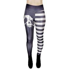 Raidalliset Pääkallo Legginsit | Cybershop Alternative Style, Alternative Fashion, Summer, Pants, Trouser Pants, Summer Time, Women Pants, Trousers Women, Trousers